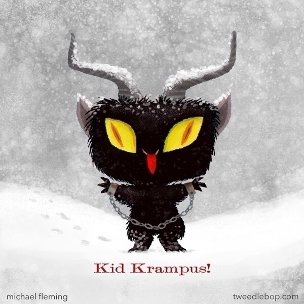Kid Krampus - Photoshop - tweedlebop-6206 | ello