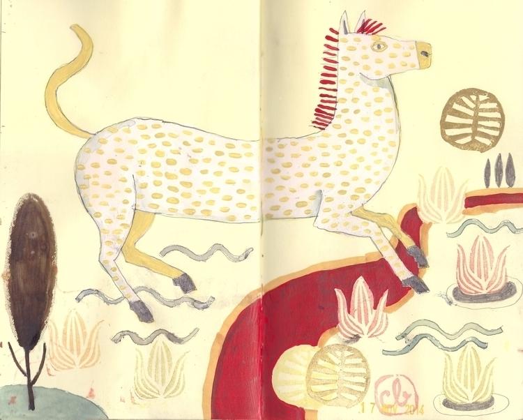 sketchbook, drawing - carolitabernal | ello