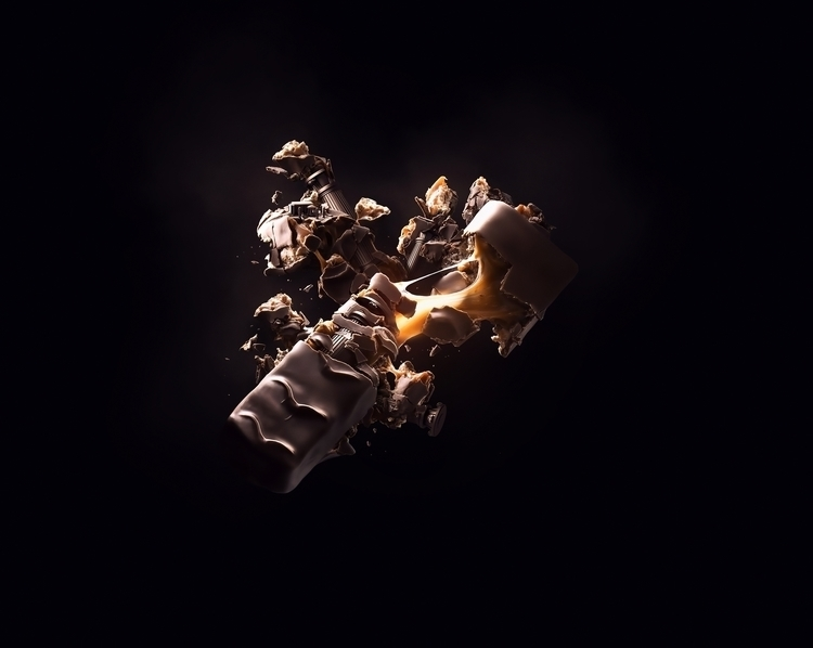 Chocolate Bar - illustration, 3d - kevinroodhorst | ello