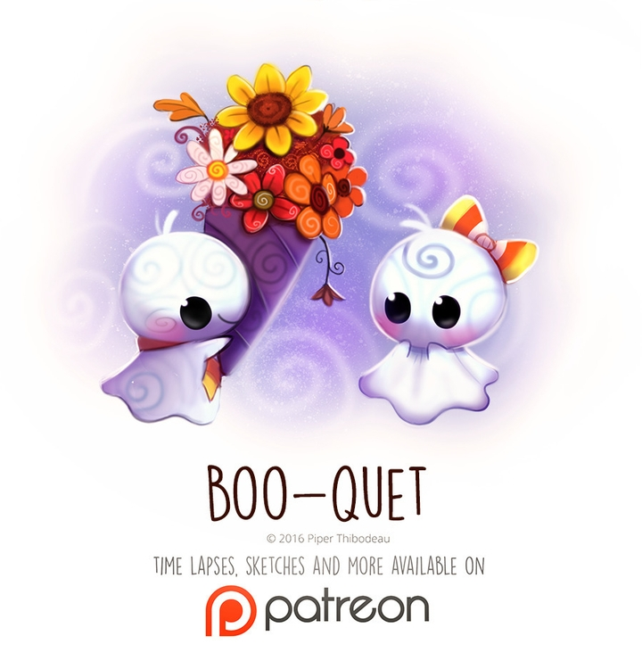 Day 1428. Boo-quet - piperthibodeau | ello