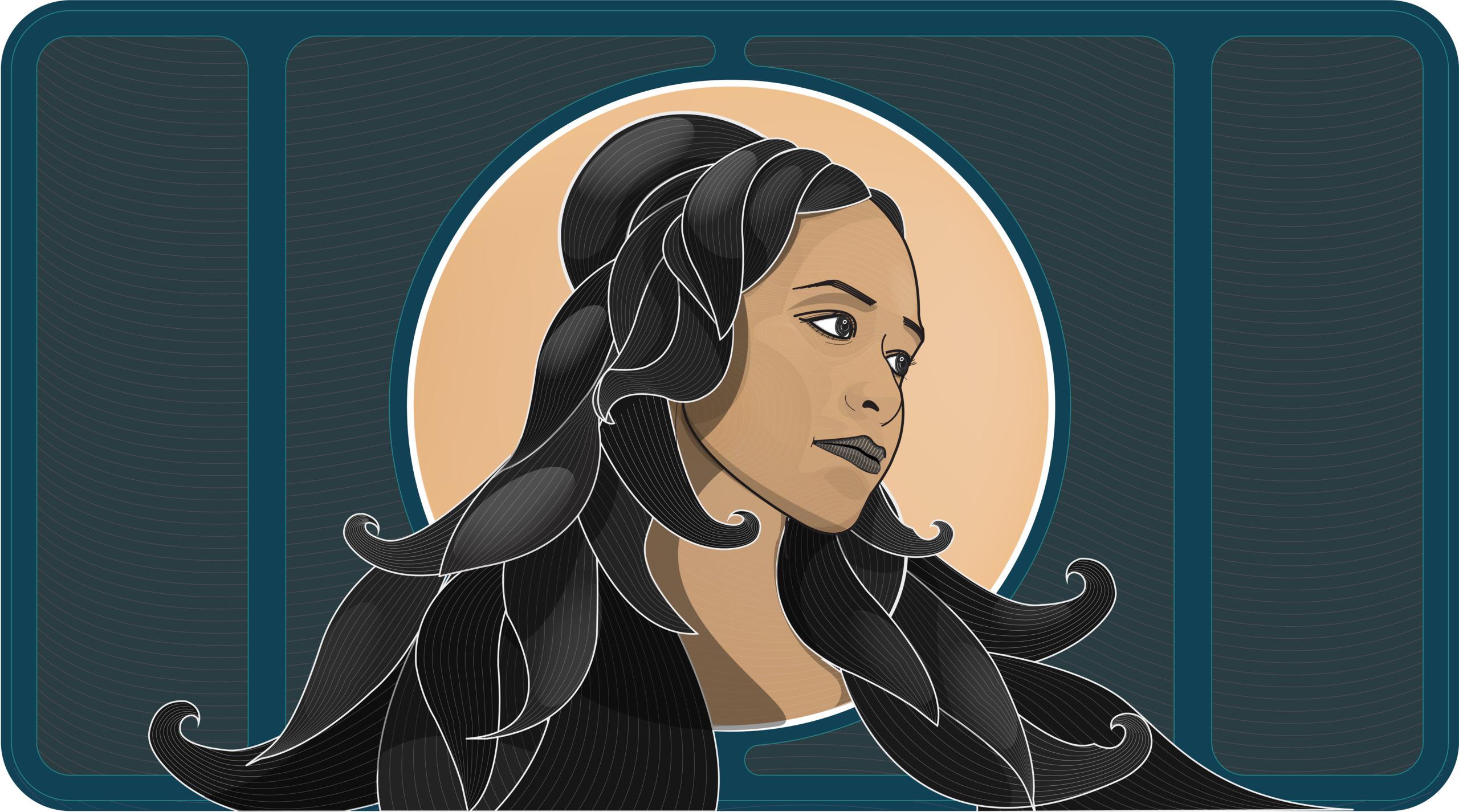 illustration, woman, vectorillustration - pedrobarrera | ello