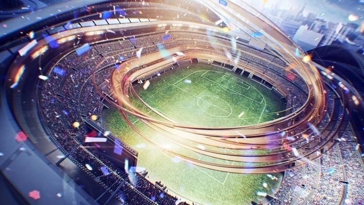 'Sport 1 HD' channel styleframe - tvconcept   ello