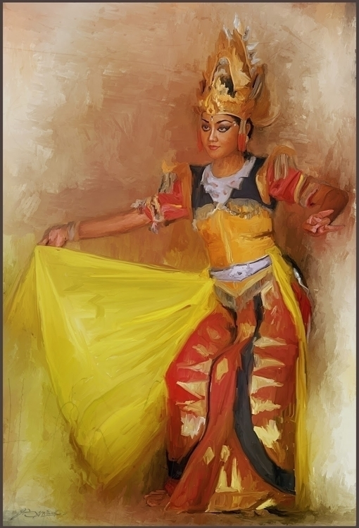 bali dance - illustration, animation - s2prambudi | ello