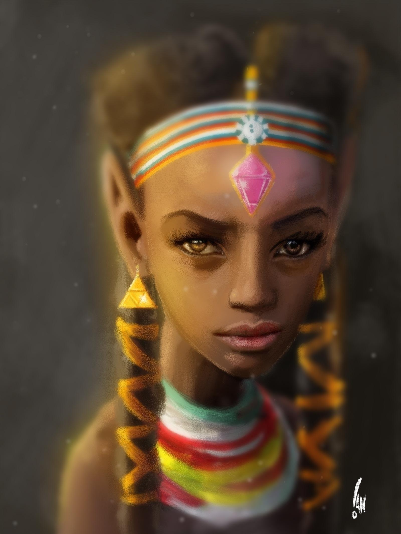 Zelda Kenya - zelda, nintendo, Wacom - sketchian-5498 | ello