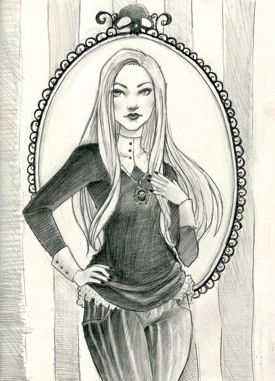Abigail Larson - AbigailLarson, gothic - shanalikeanna   ello