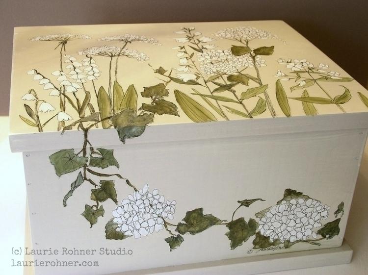 Painted furniture custom keepsa - whitefieldstudio   ello