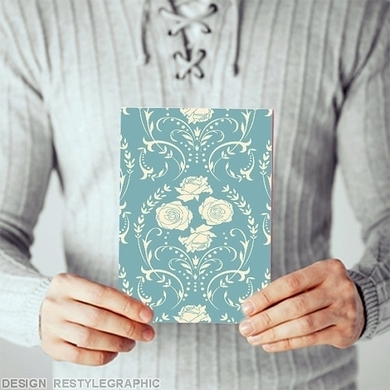 Retro ornament greeting cards - illustration - yaviki | ello
