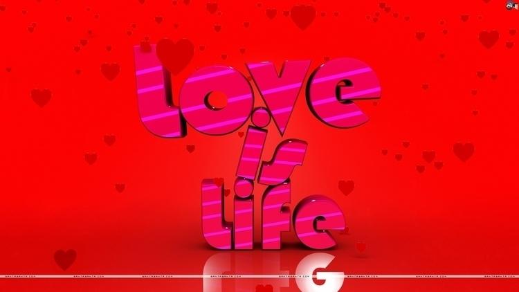 Love Life - conceptart, typography - aman_d_singh | ello