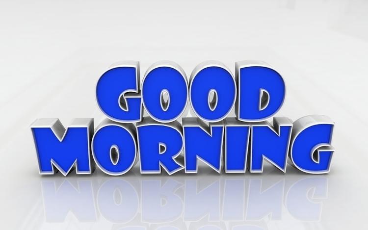 Good Morning - conceptart, typography - aman_d_singh | ello