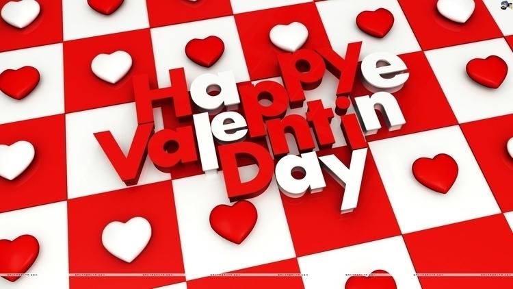 Happy Valentine Day - illustration - aman_d_singh | ello