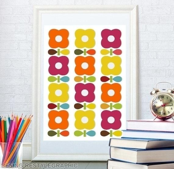 Floral pattern kids room - nursery - yaviki | ello