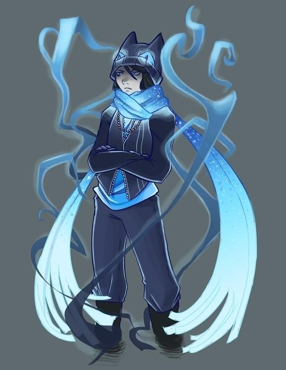 Gaiaonline Avatar - gaiaonline, blue - shanalikeanna | ello