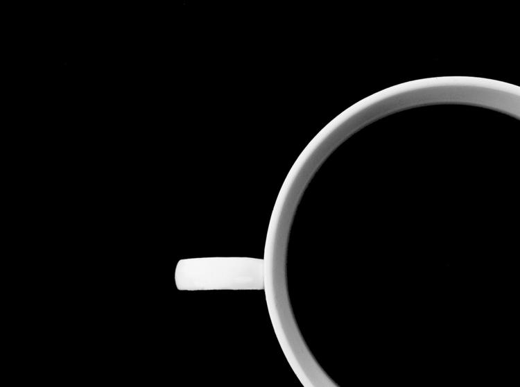 White black - minimal, minimalism - magnes-1357 | ello