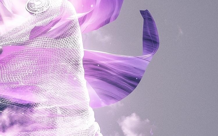 Transcendence  - illustration#digitalart#design#characterdesign#photoshop#painting#davisvrworks#drawing#conceptart - kevinroodhorst | ello