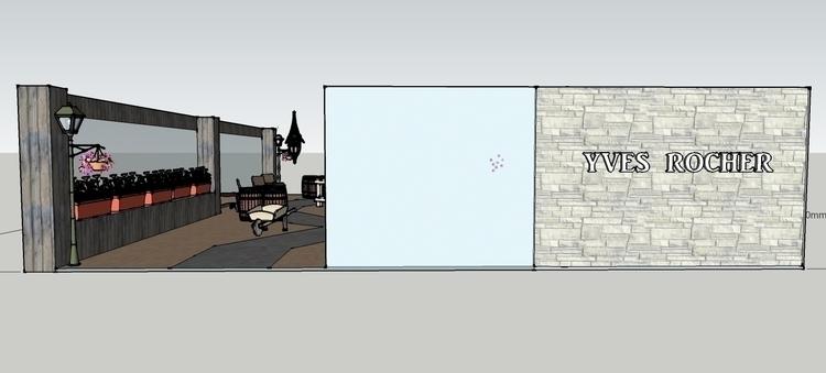 Proposed store design Yves Roch - syairahkimmy | ello