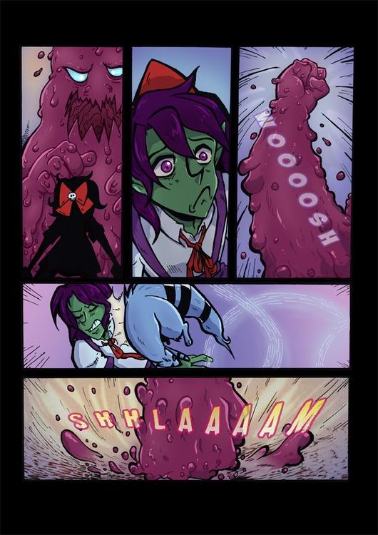 page webcomic wicked - webcomics - ariannafahrenkamp | ello