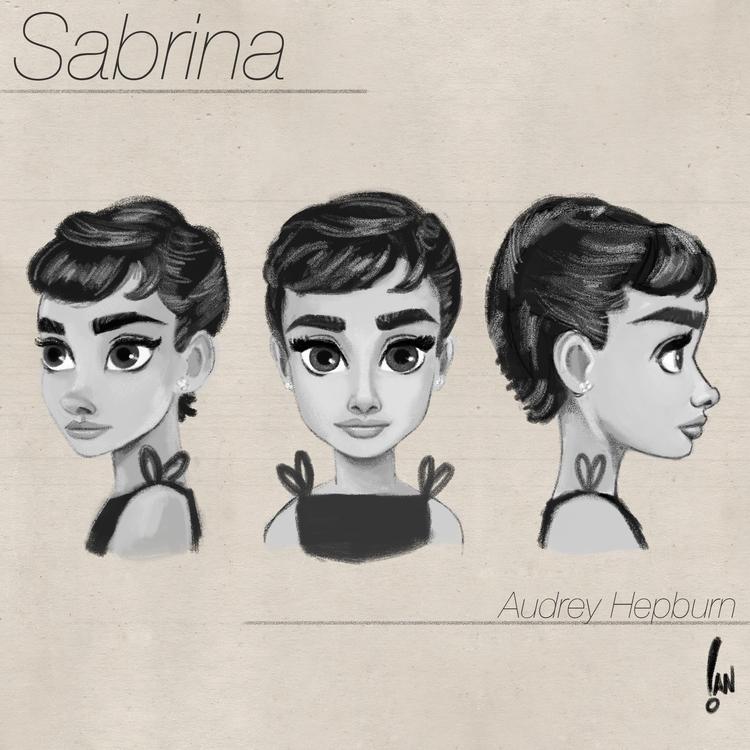 Sabrina/audrey - 3d rig concept - sketchian-5498 | ello