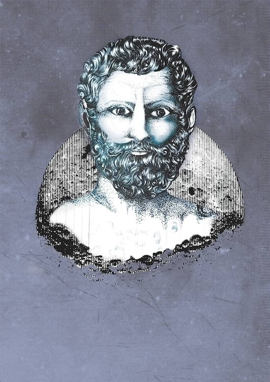 Thales - illustration, thales, philosophy - ibtisam | ello
