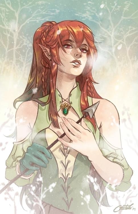 Secret Santa da~ - elf, fantasy - crystalcurtis   ello