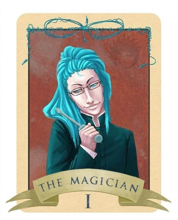 Tarot card personal cyberpunk c - reach-5958 | ello