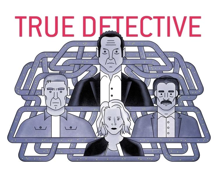 True Detective Season 2 - hbo, tvshow - bpcreaciones | ello