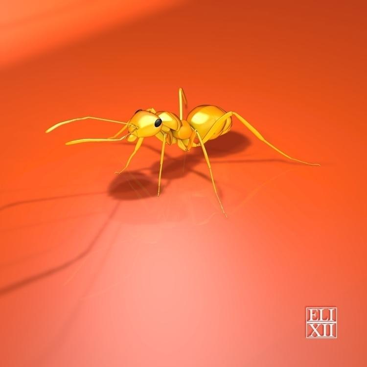 3dart, insect - eli_xii | ello