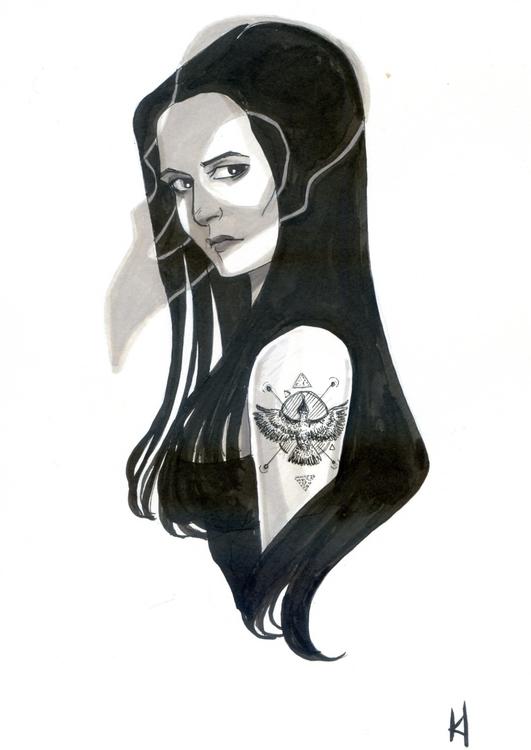 ink paper - kadjura   ello