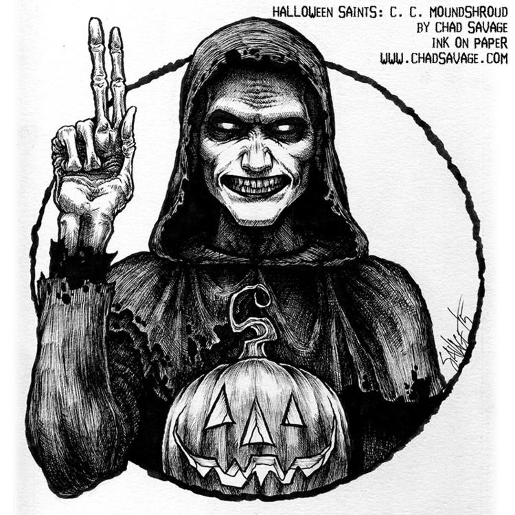 Halloween Saints: Carapace Clav - chadsavage-9708 | ello