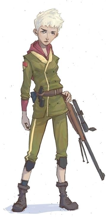 sketch, character - jon-6922 | ello
