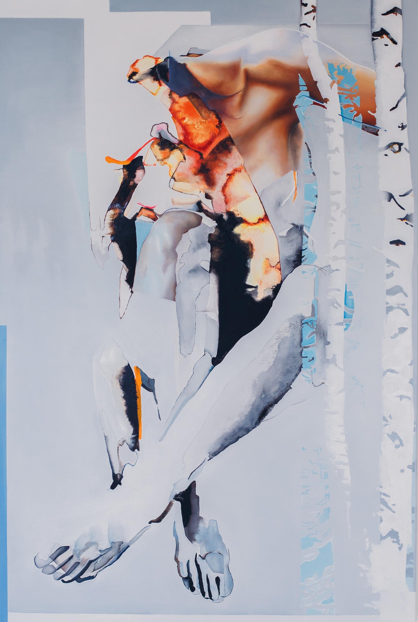 Brzezina - painting, oilpainting - zdzichowska | ello