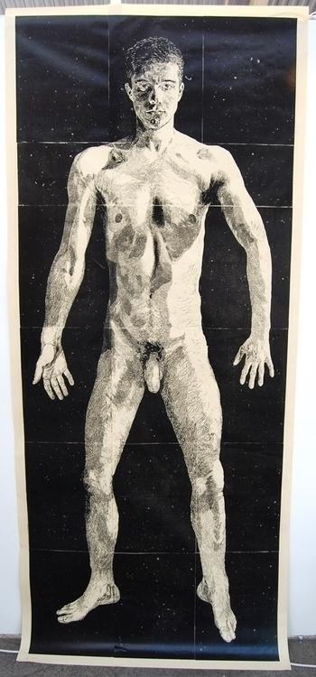 Linocut portrait. Shortlisted T - benhendy | ello