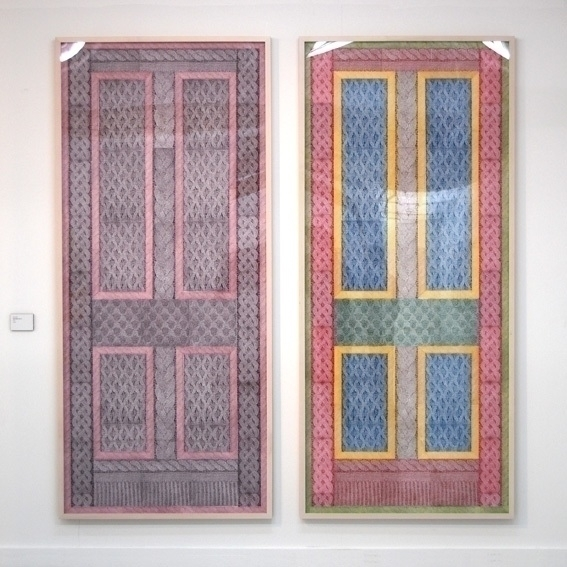 - Crisis Commission - linocut, doors - benhendy | ello