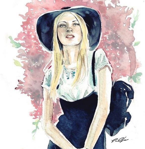 Jules Diary - illustration, fashionillustration - cpicheco | ello