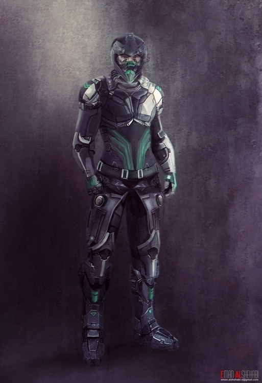 concept hard surface characters - emanalshehabi | ello
