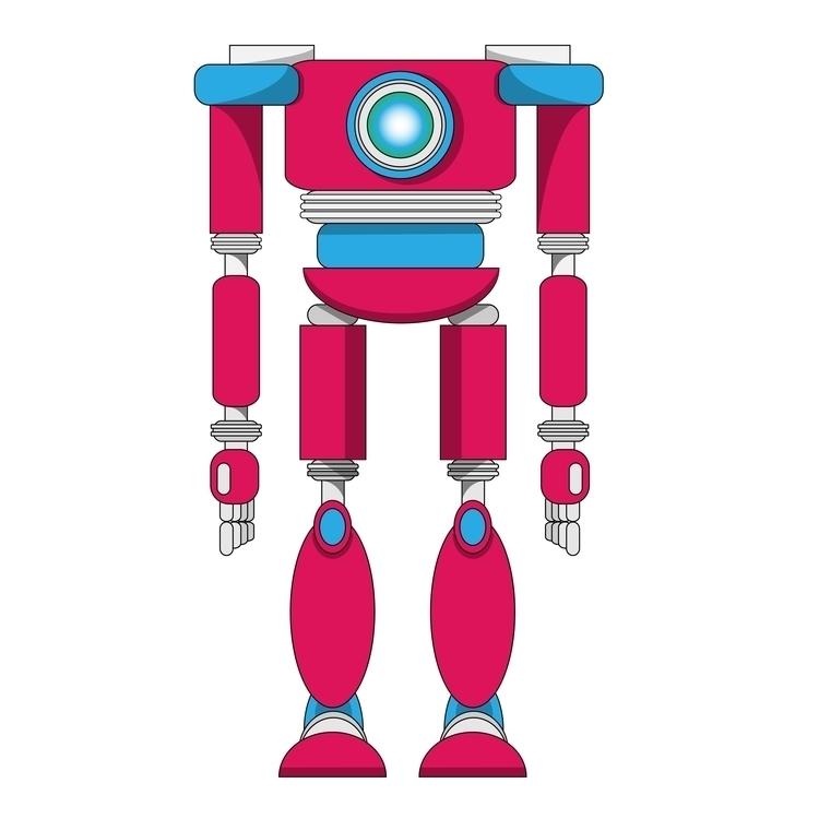 Robo-bot - illustration, robot - guycresswell | ello