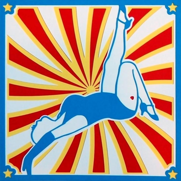 Circus - papercut, burlesque - brittcoxon-9543 | ello