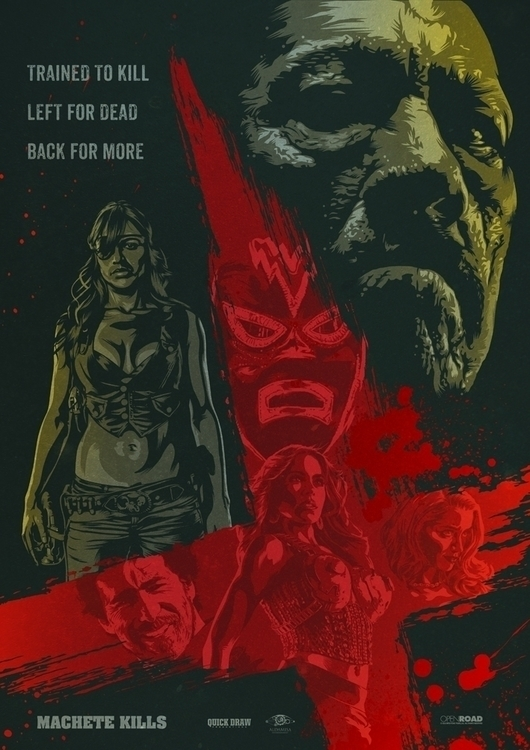 machete, movieposter - oldredjalopy | ello