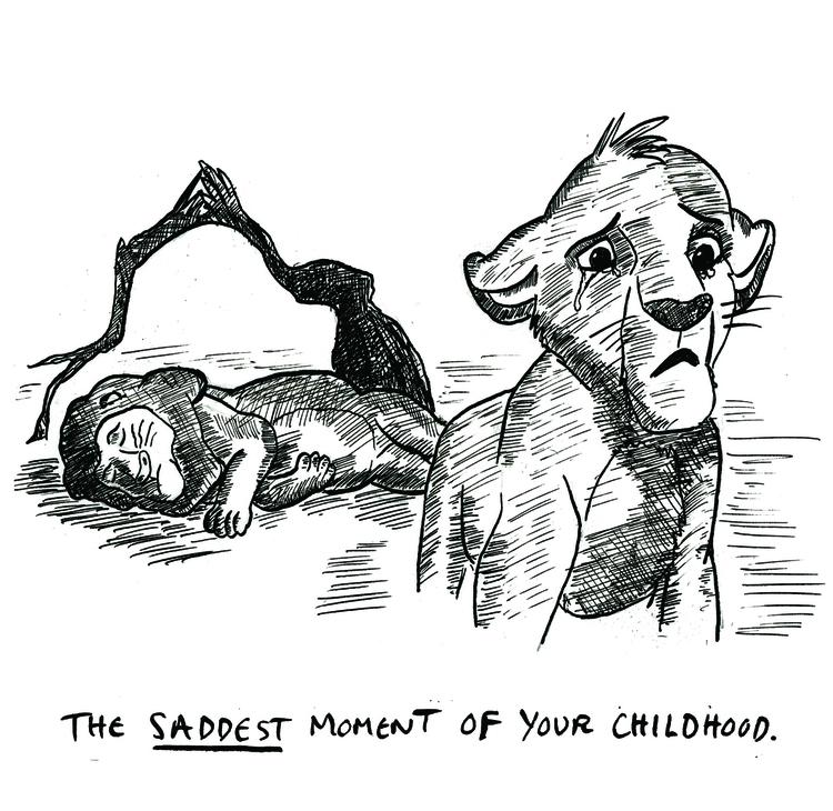 RIP Mufasa - thelionking, illustration - jordonthompson | ello
