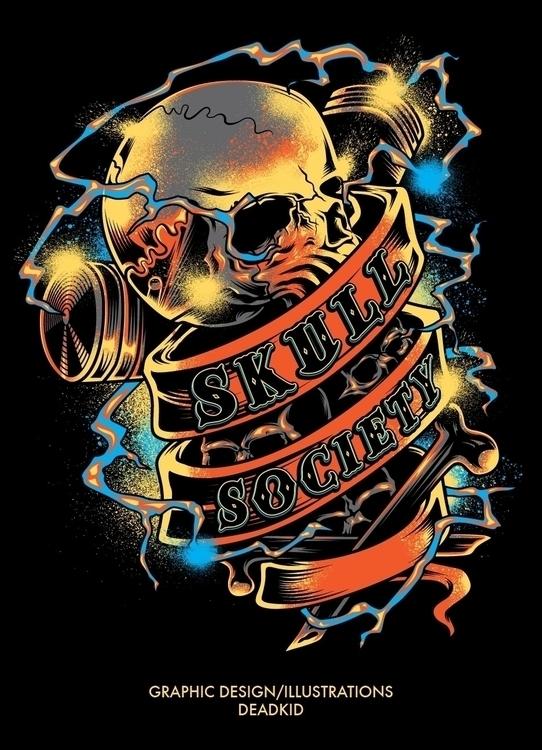 Skull Society - deadkid0018 | ello