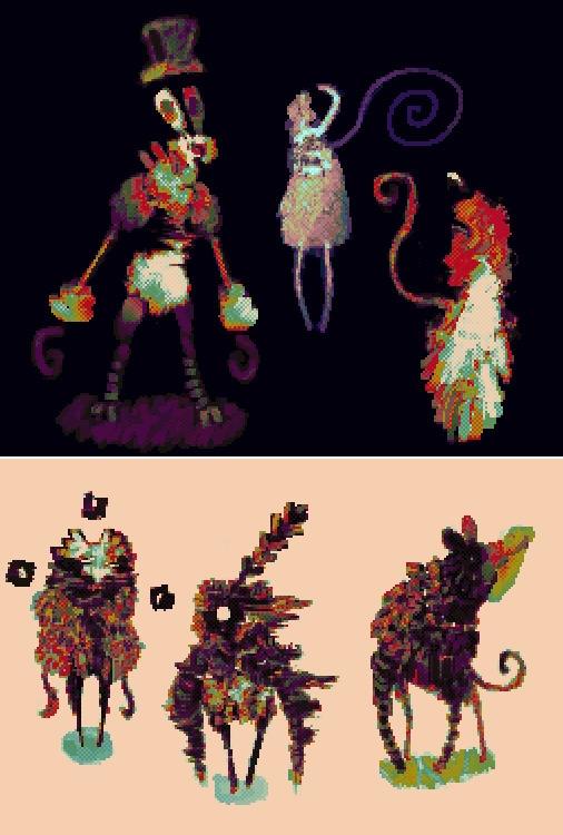 Underworld - pixelart, digitalart - cellusious | ello