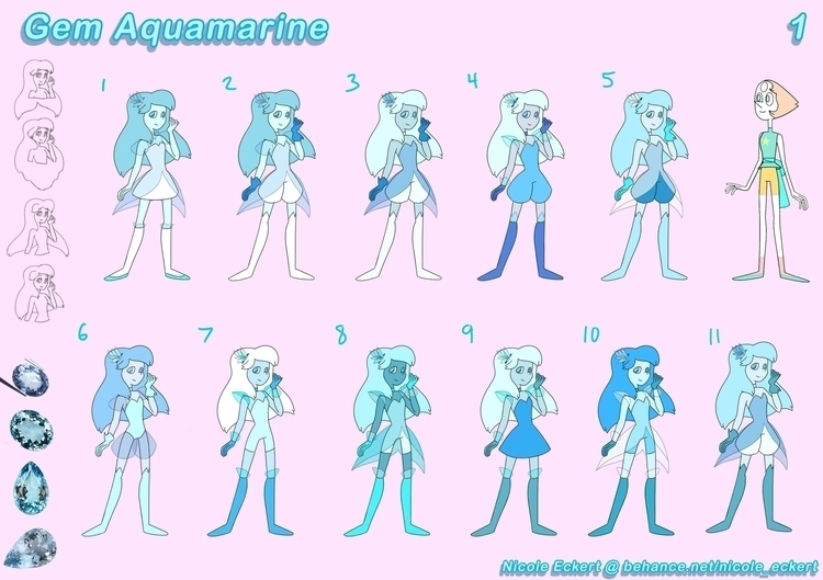 Original Gemsona design inspire - eckertainment | ello