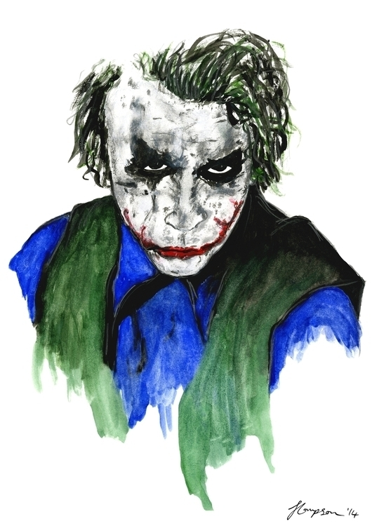 Heath Andrew Ledger - batman, darkknight - jordonthompson | ello