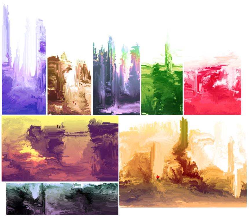Worlds. (30 sec - painting, digitalart - cellusious | ello
