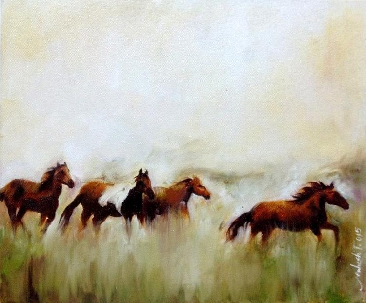 Oil Canvas - painting - maheshmitraa | ello