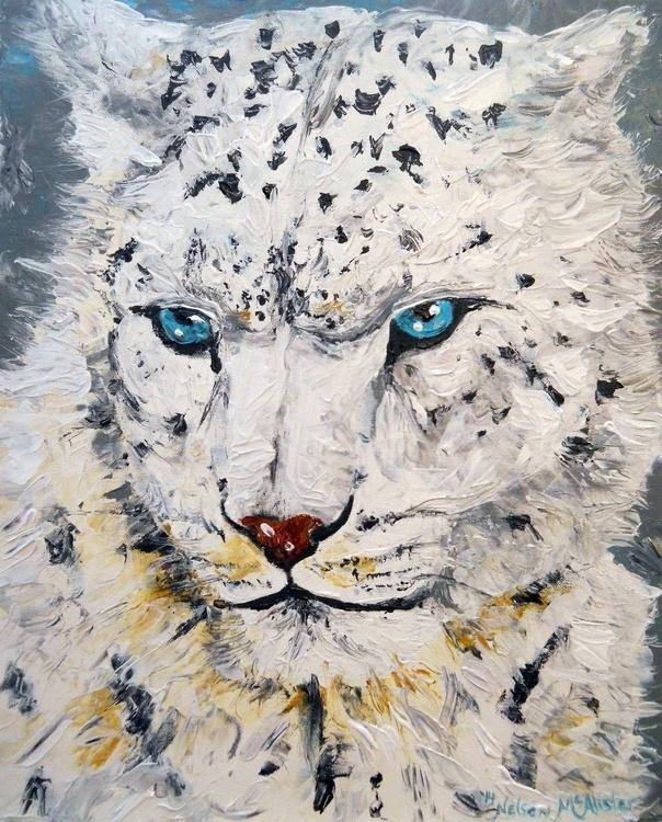 snow leopard - animals, animal - maryann-6495 | ello