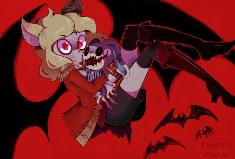 gluttonous vampire, Hansel - originalcharacter - princessmisery | ello