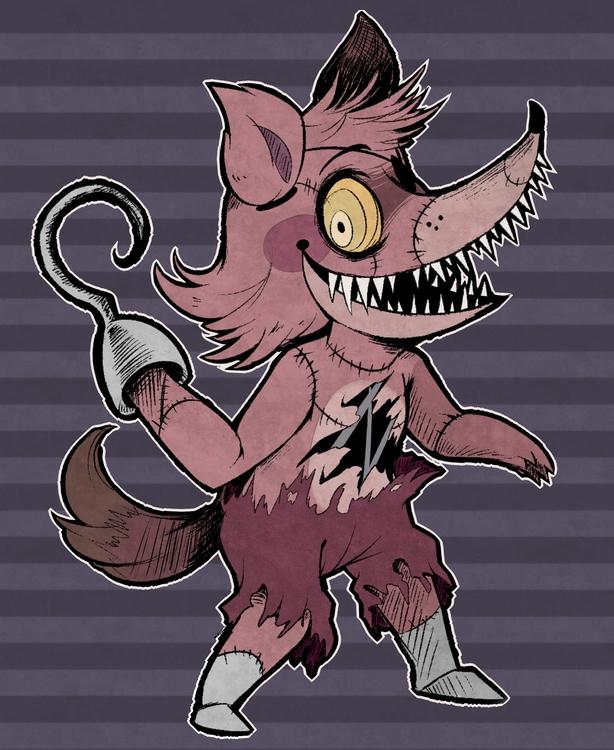foxy - fnaf - princessmisery | ello