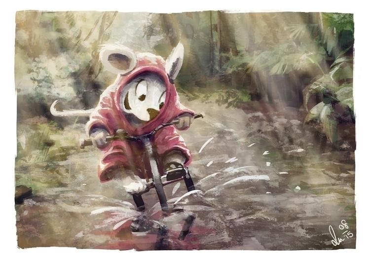 rain --- fun - children'sillustration - anjameyer-7393 | ello