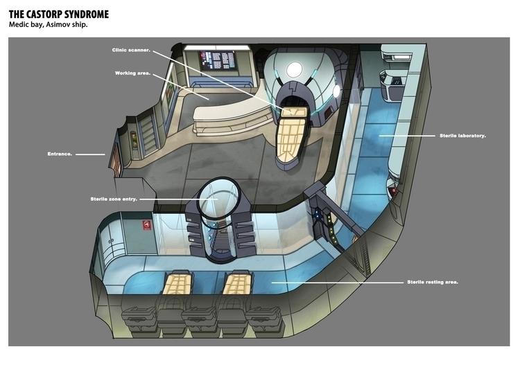 conceptart, spaceship, design - christiansuarez | ello