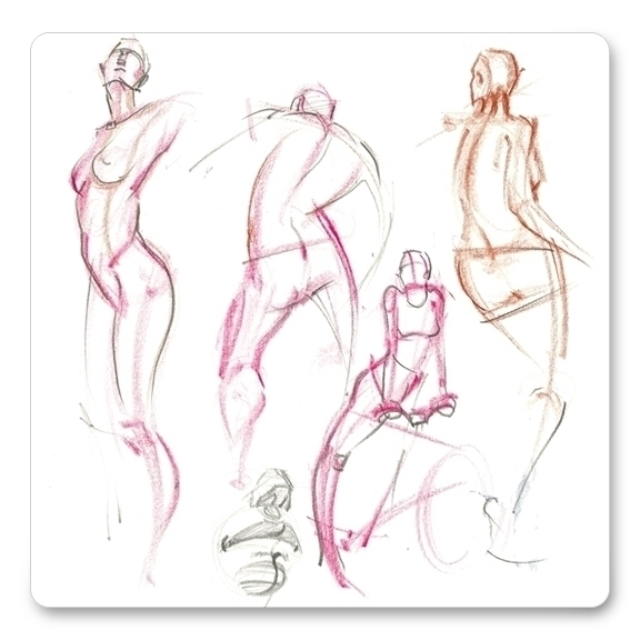 Daily gesture drawing. Poses dr - dkelmer | ello